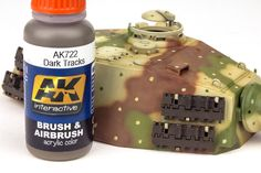 The Modelling News: Andy finishes Meng Models scale King Tiger Henschel Turret with AK shades. The Modelling News, Tiger Ii, Tiger Tank, Camo Colors, Model Tanks, Military Modelling, Ww2 Tanks, Military Diorama, Panzer