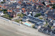 ✈️ Photo aérienne de : Le Crotoy - Somme (80)