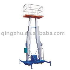 Double Mast Aluminum Elevated Platform ,Double Mast Aerial Work Platform