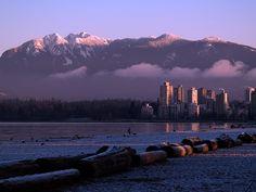 Kits beach, Vancouver, Canada