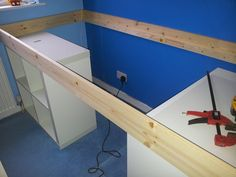 IKEA Hackers: An EXPEDIT Bed for kids!                                                                                                                                                                                 More