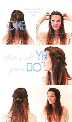 beach hair tutorial