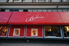Macy's NYC.  Designed and fabricated by Hudson Awning & Sign.