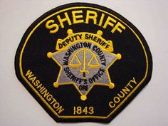 Washington county Sheriff OR