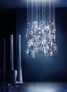 Italian lighting manufacturer Micron Illuminazione, have introduced the Ginger Chandelier.