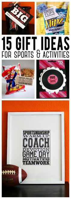 15 Gift Ideas for your kids Sports & Activities coach gifts, soccer coach gifts #giftideas
