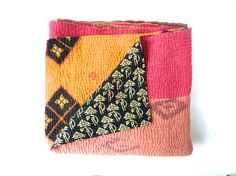 kantha+quilt+vintage+kantha+quilt+indian+quilt+bed+by+fairlyworn,+$105.00