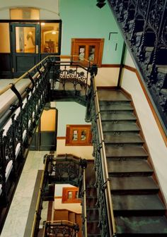 Photos: Inside the Fabled Walls of the Chelsea Hotel   Vanity Fair - the iron work is gorgeous!