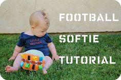 Football softie tutorial