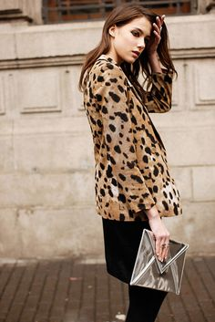 animal print done right ///