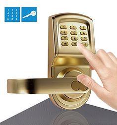 Assa Abloy Digi Smart Security Electronic Keyless Keypad Door Lock Knob Home Use Entry 6600-88 Gold Assa Abloy Digi http://www.amazon.com/dp/B003IE4TX4/ref=cm_sw_r_pi_dp_uIxqwb0VTY0YT  #ASSAABLOYDIGI #Fingerprint #DoorLock #door #keypad #Satin #chrome #handdoor #Electronic #Password #Card #Key #Handle #Nickel #home #office #Mechanical #gold #Freeshipping