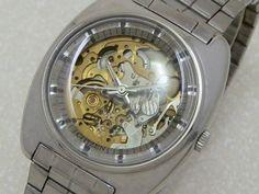 シチズン 両面スケルトン ステンレス・スチール CITIZEN  ・JA-0316 |時計の委託・アンティーウオッチマン