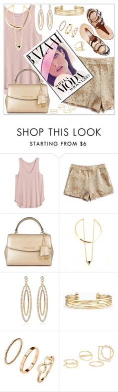 """""""luxury set"""" by nickooe-zhou ❤ liked on Polyvore featuring Lucky Brand, Bela, MICHAEL Michael Kors, Stella & Dot, MANGO and Sydney Evan"""
