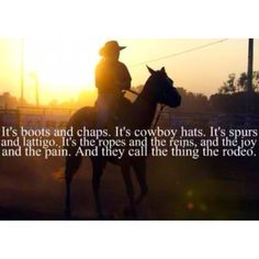 <3 me some RODEO