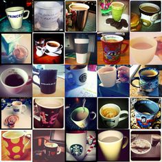 #coffee #cup #collage