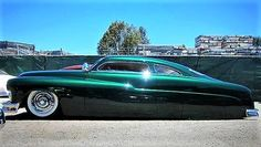 1951 Chopped Mercury Coupe 8