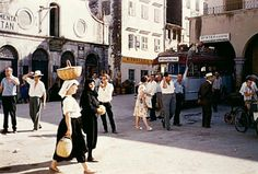 1960 - Photo by Stephan Dimos Greece Pictures, Old Pictures, Old Photos, Vintage Photos, Corfu Greece, Athens Greece, Hillside Village, Corfu Town, Corfu Island