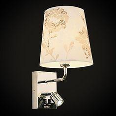 Lămpi de perete, o lumină, artistic din oțel inoxidabil de placare MS-86211-2 – USD $ 159.99