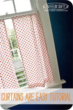 DIY CurtainTutorial- I'm Feelin' Crafty
