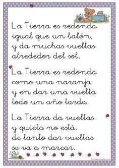 54 Poemas Cortos para Niños » Poesias infantíles Bonitas | ParaNiños.org Spanish Classroom, Preschool Classroom, Teaching Spanish, Spanish Grammar, Classroom Ideas, Fluency Practice, Classroom Language, Spanish Lessons, Learn Spanish