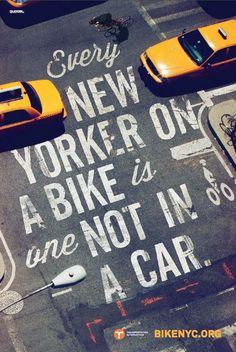 #BikelikeaNewYorker | BikeNYC