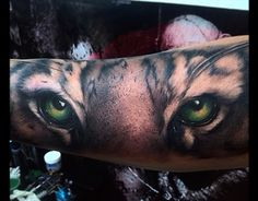"""Check out new work on my @Behance portfolio: """"Tiger eyes tattoo"""" http://be.net/gallery/38024543/Tiger-eyes-tattoo"""
