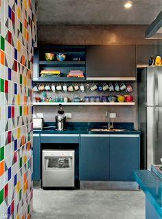 Uma pitada de cor na sua cozinha