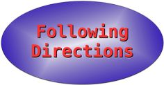 following directions button