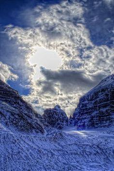 Plain of Six Glaciers -- Banff National Park, Alberta, Canada