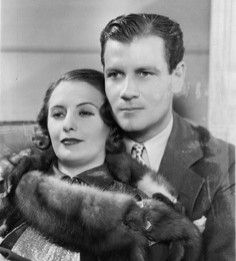 As 'Lady Lee' with Joel McCrae 'Gary Madison' in Gambling Lady,1934, directed by Archie Mayo. Mayo had directed many silent pictures.