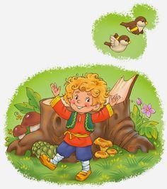 Genrich Veselkin, illustration, Генрих Веселкин, for kids