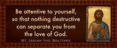 St. Isaiah the Solitary
