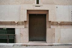 Banco Popolare di Verona. Verona, Italy. Carlo Scarpa design 1973-8. Completed 1981 by Arrigo Rudi (after Scarpa's death).