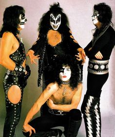 1974 Kiss! My brother loved Kiss & had a lot of their albums back then.