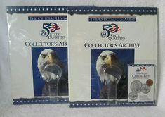 State Quarters, United States Mint, Wall Decor Pictures, Album, The Collector, History, Storage, Purse Storage, Historia