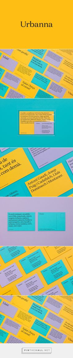 New Brand Identity for Urbanna by Forma & Co — BP&O - created via http://pinthemall.net