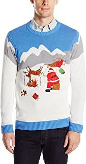 Ugly Christmas Sweater - Ideas that Win all the Ugly Sweater Contests Kids Christmas Sweaters, Mens Ugly Christmas Sweater, Ugly Sweater Contest, Christmas Bingo, Sock Yarn, Stitch Markers, Being Ugly, Reindeer, Embroidery