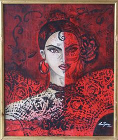 """Ethnic Women"" series by Sema Gunay 