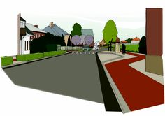 illustratie infrastructuurontwerp