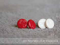 DIY - Polymer clay earrings