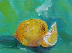 Tangy 3 x 4 inch Mini Oil Painting On by VDauthFinePaintings, $20.00