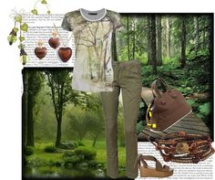 """Rown's Green of Spring"" by rownstyle ❤ liked on Polyvore"
