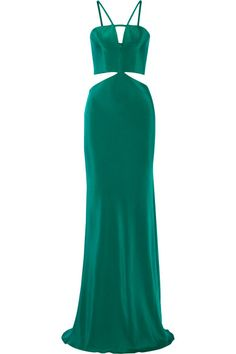Beautiful Cushnie Et Ochs Cutout silk gown // SHOP in link (50% off)
