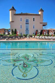 Château de la Messardière ~ a 19th century chateau is now a luxury hotel in Saint-Tropez, France
