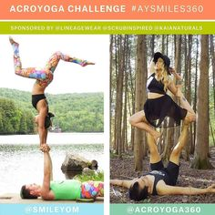 The #AYSmiles360 Challenge is starting on March 1st 2016!  The challenge will be 5 days.  Grab a friend to be your partner for this challenge.  There will be three winners. The categories are:  Most Creative Beginner Advanced  Each winning team will receive:  One pair of @Lineagewear leggings  One small sugar scrub and one regular salt soak from @ScrubInspired  One full size box of juicy bamboo wipes from @KaiaNaturals  Two SmileyOm tanks from @SmileyOM  To ENTER the #AYSmiles360 Challenge…