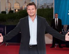 Liam Neeson: 'Taken Premiere at Deauville Film Festival!: Photo Liam Neeson suits up for the premiere of his upcoming movie Taken 2 during the 2012 Deauville American Film Festival on Friday (September in Deauville, France. Liam Neeson Meme, Liam Neeson Taken, Actor Liam Neeson, Hooray For Hollywood, In Hollywood, Taken 2, Friends Episodes, Cinema, Irish Men
