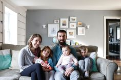 House Tour: A Rustic Modern Home for a Family of Five | Apartment Therapy