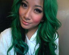 dark green due