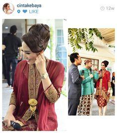 Ayu dewi Kebaya Lace, Kebaya Brokat, Kebaya Dress, Batik Kebaya, Batik Dress, Blouse Batik, Muslim Fashion, Ethnic Fashion, Hijab Fashion