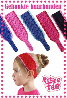 Crochet headbands: I want to use this pattern to tweak my child's sized ear warmer idea...